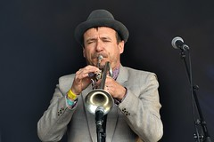 Photo of 487-20190602_15th Wychwood Music Festival-Cheltenham-Gloucestershire-Main Stage-The Baghdaddies-trumpet
