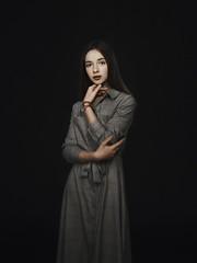 *** (Valentyn Kolesnyk (ValeKo)) Tags: pentax people portrait woman light look helios 40 85mm 15