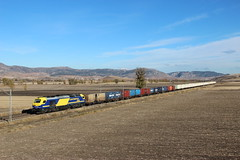 Frutero mixto (MACD 3) Tags: continentalrail 335016 vossloh €4000 cmacgm emd teco train tren adif canon eos600d