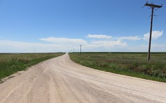 Tri-Point Landscape (Union County, New Mexico; Cimarron County, Oklahoma; and Dallam County, Texas) (courthouselover) Tags: texas tx westtexas texaspanhandleplains texaspanhandle dallamcounty statecorners tripoints landscapes oklahoma ok cimarroncounty oklahomapanhandle newmexico nm unioncounty greatplains northamerica unitedstates us kiowanationalgrassland ritablancanationalgrassland nationalgrasslands