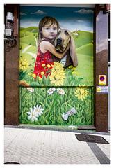 ... Egia ... (Lanpernas .) Tags: egia barrio inovart street art streetart virgendelcarmen donostia 2019