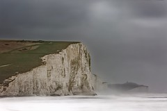 Quiet Light (pauldunn52) Tags: seven sisters sussex england stormy long exposure