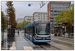 Tram Chemnitz - 2019-10 (olherfoto) Tags: tram tramcar tramway strassenbahn strasenbahn villamos chemnitz skoda forcity cvag