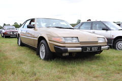 Rover 3500 ZV10707 (Andrew 2.8i) Tags: festival unexceptional buckinghamshire middle claydon meet show coche voitures voiture autos auto cars car leyland british bl sdi sd1 executive hatch hatchback v8 3500 rover zv10707