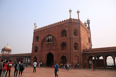 Jama Masjid Mosque (5 of 5) (Jungle Jack Movements (ferroequinologist) all righ) Tags: mosque jama masjid new delhi india indian sunni islam church ecclesiastical cleric clerical minister priest religion religious priestly apostolic secular spiritual pray worship preach preacher imam temple clergy architecture building history design