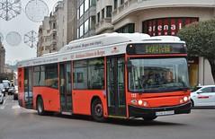 Burgos, plaza del Mío Cid 02.01.2019 (The STB) Tags: bus autobus autobús busse burgos castillayleón transportepúblico publictransport öpnv transporteurbano citytransport