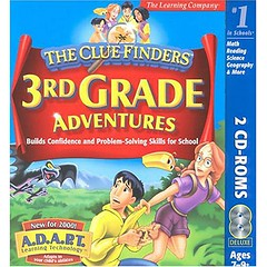 ClueFinders 3rd Grade Adventures: Mystery of Mathra  [OLD VERSION] (shop8447) Tags: 3rd cluefinders grade mathra mystery
