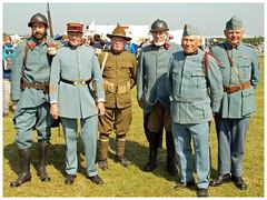 Le temps des hélices 2018 (Aerofossile2012) Tags: reenactors reconstituants 2018 laferté airshow meeting army armée ww1 wwi 1418 war uniform uniforme poilu