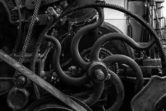 Behind the wheel (michael_hamburg69) Tags: wollspinnerei badsegeberg förderverein wolle fördervereinwollspinnereiblunckev kurhausstrase38 flickrtreffen wool woolspinningmill germany deutschland