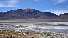 The frozen lake (Chemose) Tags: sony ilce7m2 alpha7ii mai may bolivie bolivia paysage landscape désert montagne mountain andes sudlipez southernlipez desert volcan volcano lagunacachi cachi lac lake hdr lipez eau water