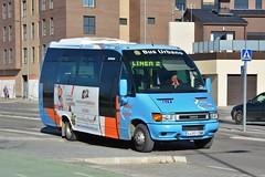 Aranda de Duero, avenida de Teresa de Jesús Jornet 02.01.2019 (The STB) Tags: bus autobus autobús busse burgos castillayleón transportepúblico publictransport öpnv transporteurbano citytransport