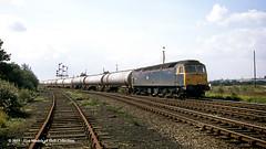 08/09/1987 - Wrawby Junction, Barnetby, North Lincolnshire. (53A Models) Tags: britishrail brush type4 class47 47212 diesel freight wrawbyjunction barnetby northlincolnshire train railway locomotive railroad