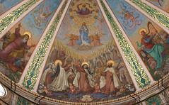 Carmelite Saints (Lawrence OP) Tags: immaculateconception carmelite saints mountcarmel elijah david dome stellamaris haifa holyland