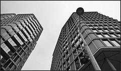 grey & grey (christikren) Tags: austria architecture abstract bw christikren facade buildings vienna monochrome modern minimalism