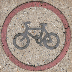 cycle route (Leo Reynolds) Tags: xleol30x squaredcircle panasonic lumix fz2000 sign signsafety signcircle signtraffic bicycle cycle bike