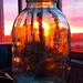 Just a jar. Siberian sunset