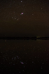 Orion Reflected - Yenyening Lakes, Western Australia (inefekt69) Tags: lake water reflections lakes astrophotography orion yenyening sky 35mm stars nikon space australia nebula western astronomy stacked d5500 skytracker ioptron sequator