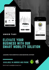 Taxi Management App (UnicoTaxi) Tags: smart dispatch solution taxi booking software uber clone app unicotaxi