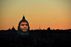 Retrato - Portrait (Collage) (COLINA PACO) Tags: retrato ritratto portrait roma puestadesol coucherdusoleil sunset tramonto collage fotomanipulación fotomontaje photomanipulation franciscocolina