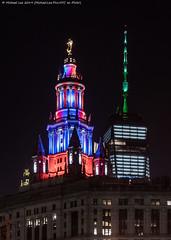 Veterans Day (20191111-DSC08991-1) (Michael.Lee.Pics.NYC) Tags: newyork night veteransday lowermanhattan municipalbuilding onewtc wtc worldtradecenter architecture cityscape skyscraper illuminated sony a7rm4 fe24105mmf4g