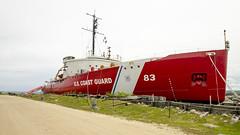 USCGC Ice Breaker Mackinaw (rschnaible) Tags: mackinac city michigan mid west outdoor sightseeing ship coast guard ice breaker uscgc mackinaw boat vessel