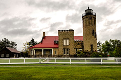 Old Mackinac Lighthouse - Mackinaw City II (rschnaible) Tags: mackinac city michigan mid west outdoor sightseeing old lighthouse history historic building architecture work production transportation
