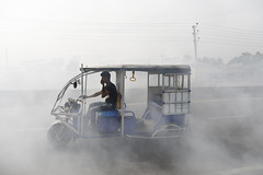 Bangladesh Air Pollution (Suvra Kanti Das) Tags: air pollution fire climate environment garbage atmosphere toxic carbon greenhouse gases problem consumerism nature smoke dhaka bangladesh wastage waste dump dumpyard industry narayanganj