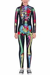 RAISEVERN Parent-Child Halloween Costume Kids Skeleton Bodysuit Cosplay Jumpsuit (shop8447) Tags: bodysuit cosplay costume halloween jumpsuit kids parentchild raisevern skeleton
