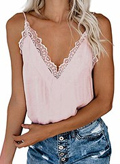 Happy Sailed Women Halter Tank Tops Lace Crochet V Neck Strappy Loose Camisole Vests Shirt (shop8447) Tags: camisole crochet halter happy lace loose neck sailed shirt strappy tank tops vests women