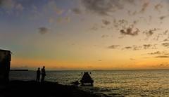 Hopeful wait (Carlos A. Aviles) Tags: sunset atardecer mar ocaso sea sky people gente puertorico horizon cielo wait caribbean ponce horizonte caribe wating esperando espera