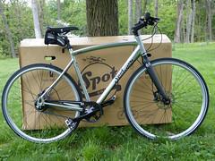 Spot out of box (wwimble) Tags: spot acme bicycle bike assembled
