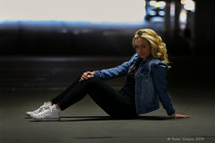 Hailey - November 10, 2019 (Peter Camyre) Tags: parking garage photoshoot cold windy portrait portraits photography peter camyre pictures canon fashion teen teenager girl model friend beautiful pretty blonde fun lively photogrenic sunday november 10 2019 holyoke mass massachusetts