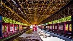 Le métro oublié (Belgique) (musette thierry) Tags: urbex belgium explorationurbaine musette thierry d800 nikon nikond800 belgique 1835mm nikkor gurushots