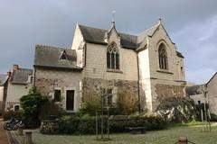 Notre-Dame de Béhuard (bateauxdefumee) Tags: béhuard maineetloire france loire île isle island paysage city ville village cité de caractère