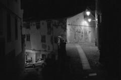 Lives people live (lebre.jaime) Tags: portugal beira covilhã streetphotography nocturnal nightphotography architecture street house analogic film135 bw blackwhite nb noiretblanc pb pretobranco ptbw kodak tmax3200 tmz leicam3 summicron2050dr epson v600 affinity affinityphoto