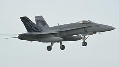 Swiss Air Force McDonnell Douglas F/A-18C J-5018 (Rob390029) Tags: swiss air force mcdonnell douglas fa18c j5018 panther raf leeming egxe