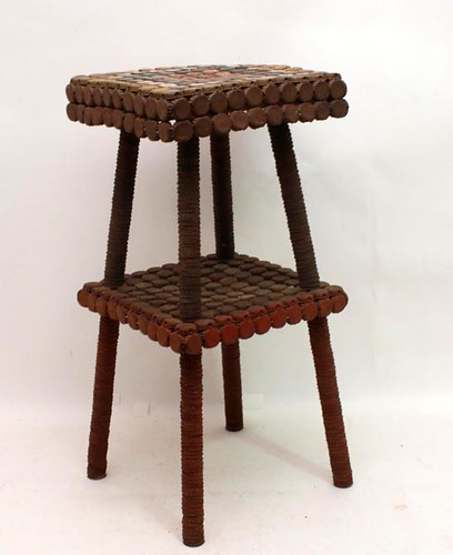 Folky Bottle Cap Table ($700.00)