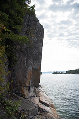 Sheer Drop D75_0263 (iloleo) Tags: cliff landscape ontario lakesuperior park summer nature nikon d750