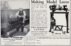Save the Planet and Energy. Buy a Drummond Lathe