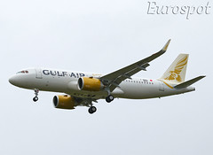 F-WWDU Airbus A320 Neo Gulf Air (@Eurospot) Tags: airbus a320 neo toulouse blagnac a9cte fwwdu 9331 gulfair