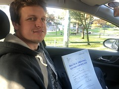 Massive congratulations  to Helton Zanutto passing his driving test this morning on his first attempt!   www.leosdrivingschool.com  WARNING: Getting your license is a good achievement however being a SAFE driver for life is the biggest achievement!