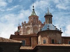 Teruel - Tejados y cimborrio Catedral de Santa María. (EduOrtÍn.) Tags: teruel aragón catedral tejados cimborrio