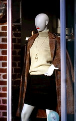 Shop window - boutique on Tring High Street (Snapshooter46) Tags: boutique shopwindow windowdressing womensfashions tring highstreet mannequin lollyandmitch