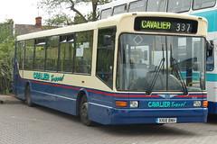 Photo of Cavalier Travel Dennis Dart SLF X168BNH - Peterborough
