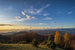 Puigsacalm, Calatonia, Spain (StarCitizen) Tags: catalonia spain mountains clouds sky sunny trees foliage autumn puigsacalm sanctuary elitegalleryaoi bestcapturesaoi aoi