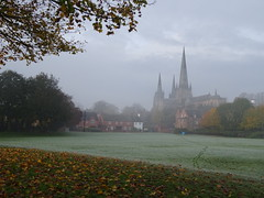 Lichfield cathedral (Wordshore) Tags: lichfield autumn fall staffordshire england rural city uk