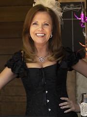 Woman in a Black Corset (Ron Scubadiver's Wild Life) Tags: people portrait outdoor renfest costume texas renaissance festival nikon 70300afp