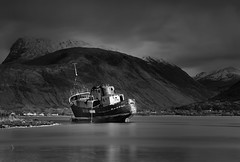 Don't give up (images@twiston) Tags: dusk hightide le longexposure corpach lochlinnhe fortwilliam bennevis snow moody light clouds mvdayspring goldenharvest 38days fr198 trawler wreck raiserchainfailure boat ship shipwreck locheil imagestwiston lochaber scottish scotland western highlands landscape atmospheric bw mono blackandwhite monochrome nisi nisifilters gnd neutraldensity grad 6stopnd