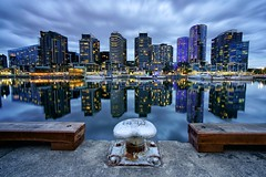 Melbourne... (lightoflanzarote) Tags: melbourne melbournedocklands victoria australia sonya7rmarkii sonya7rii sonyalpha sonya7rmark2 sonyartisan alphacollective alphauniverse alpha reflection citylights cityscape city laowa15mmf2 laowa venuslenslaowa laowa15mmf2dreamer