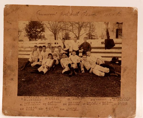 1891 Greenwood, Albemarle county football team photograph ($112.00)